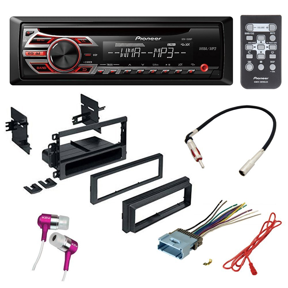 Car Stereo Radio Wiring Harness Oldsmobile 1858 Wire Adapter Plug Amazoncom Cd Receiver Dash Install Mounting Kit