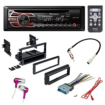 Amazon.com: CAR CD Stereo Receiver Dash Install MOUNTING KIT + Wire on audi stereo wiring harness, auto stereo wiring harness, toyota stereo wiring harness, ford stereo wiring harness,