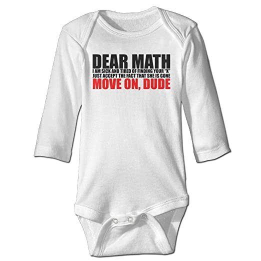 Amazoncom Zeng Funny Math Quotes Newborn Baby Rompers Baby Boys