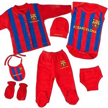 7 Teile Kollektion Real Madrid Neu Geboren Baby Jungen Set Geschenkset f/ür Baby