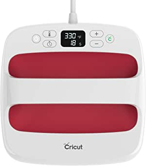 """Cricut Easy Press 2 - Heat Press Machine For T Shirts and HTV Vinyl Projects, Raspberry, 9"""" x 9"""""""
