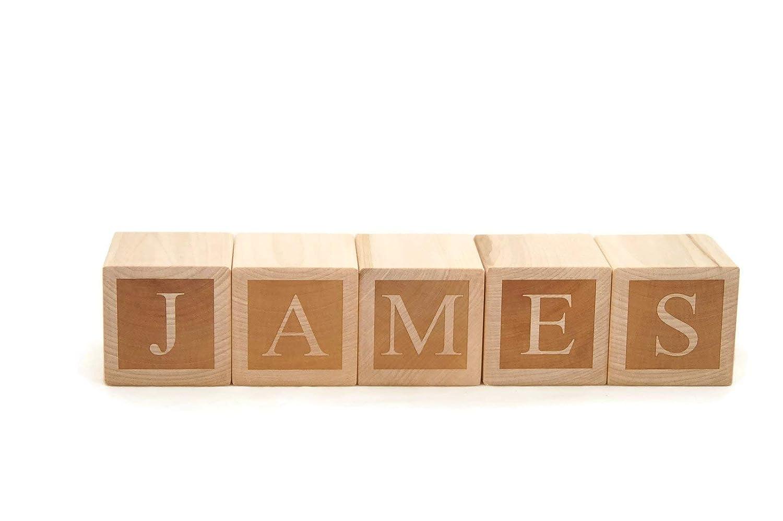 Amazon Com Letter Baby Blocks Custom Personalized Name Blocks Handmade