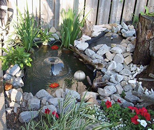 Koolscapes 270 Gallon Pond Kit with Lighting (Renewed)
