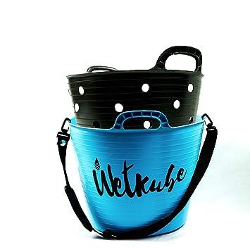 WETKUBE Cubo 25L para Cambiarse, Secar, Transportar y Guardar el Traje de Neopreno, Ideal para el Mundo del Surf, Buceo, Sup, Windsurf, Padel Surf