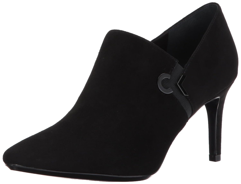 Calvin Klein Women's Joanie Suede Ankle Boot B073C75MNS 11 B(M) US|Black