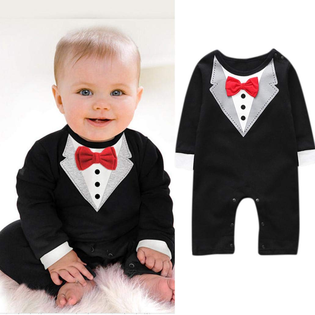 5 pack Bow Tie Bib Tuxedo Formal Gentleman Infant Baby Boy Girl Feeding Gift New
