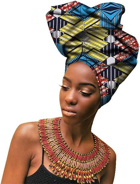 "Scarf Head Wrap Turban 70/'/' by 20/""multicolor African print Wax head Tie"