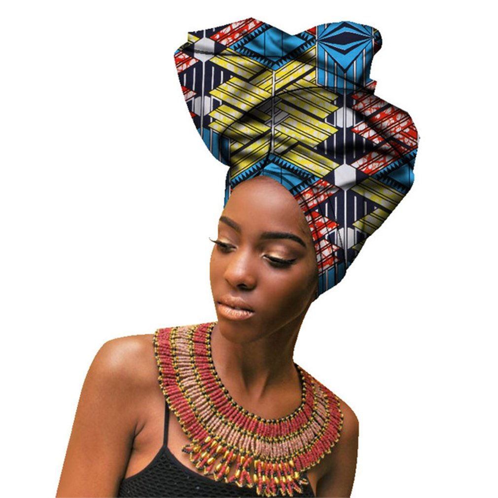 "ChienマルチカラーUrban Ladiesヘアアクセサリーヘッドバンド、Bazin Wax Print Wrap Tieスカーフ、AfricanヘッドスカーフGele Ipeleの女性Lady Extra Long 20 "" x 70 "" B07C1T2VJ8 Mixed color 06  Mixed color 06"