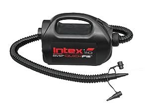 Intex 68609 - Hinchador eléctrico 220-240v incluye boquilla de aguja