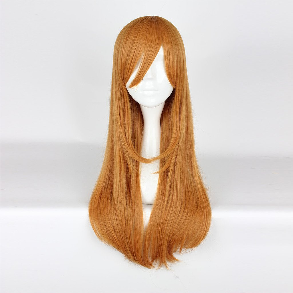 Amazon.com: springcos Kunikida Hanamaru Wig Cosplay Love Live Sunshine Aqours 75cm: Beauty