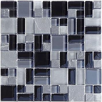 1 Red Cristal Piedra mosaico T Serie de pizarra Pattern ...