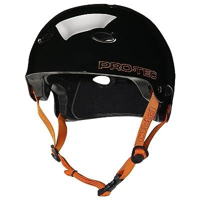 Pro-Tec B2 Skate Signature SXP Bucky Lasek Multi-Sport Helmet (Jet Black, Large) : Skate And Skateboarding Helmets : Sports & Outdoors