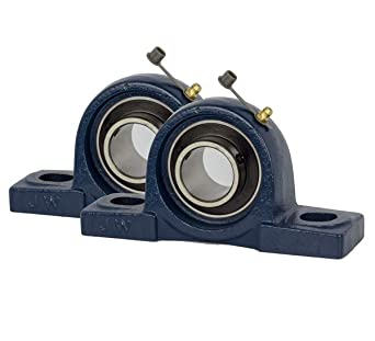 Amazon Com Jeremywell 2 Piece 1 1 2 Inch Pillow Block Bearing Ucp208 24 Solid Base Self Alignment Brand New Industrial Scientific