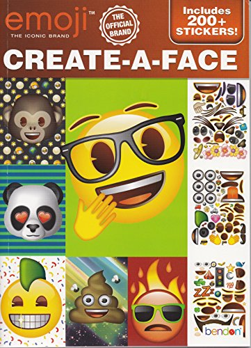 Bendon Emoji Create-A-Face with 200+ Stickers
