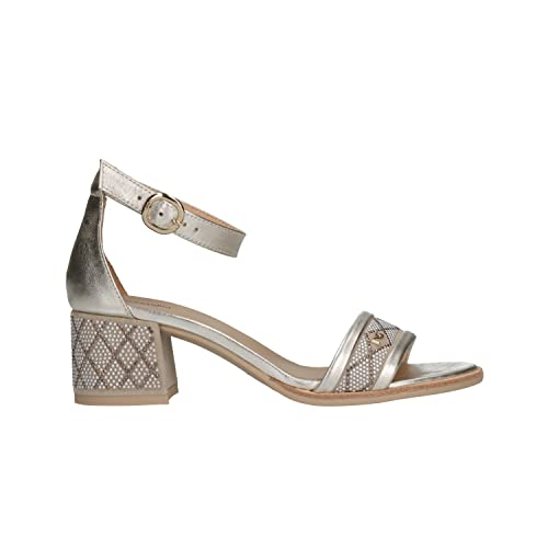 NERO GIARDINI Sandali scarpe donna platino 5831 elegante mod. P805831D