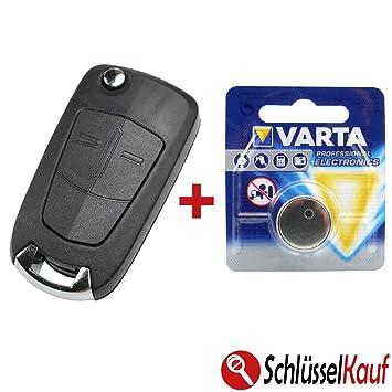 Opel llaves 2 botones Carcasa Auto Astra Corsa Vectra Zafira ...