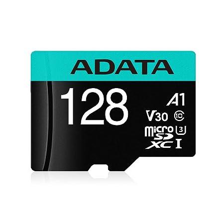 ADATA Premier Pro 128 GB microSDXC/SDHC UHS 1 U3 Class 10 Memory Card Micro SD Cards