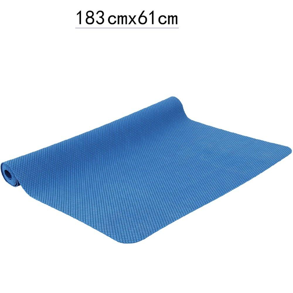 Anti-Rutsch-Yoga-Matte --- 1.5mm Ultra dünne natürliche Gummi professionelle Yoga Matten Anti-Rutsch Faltbare Fitness Matten, Farbe Optional --- Naturkautschuk Yoga-Matte, für Training   Pila