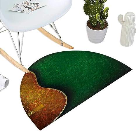 Amazon.com: Cojín semicircular para guitarra, diseño de ...