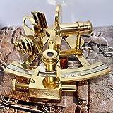 4'' Collectible German Working Instrument Marine Solid Brass Sextant By Nauticalmart