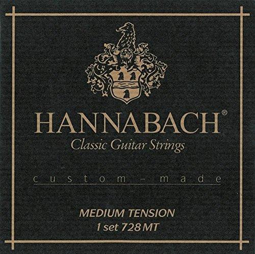 Hannabach Classical Guitar Medium Tension Silver Basses O...
