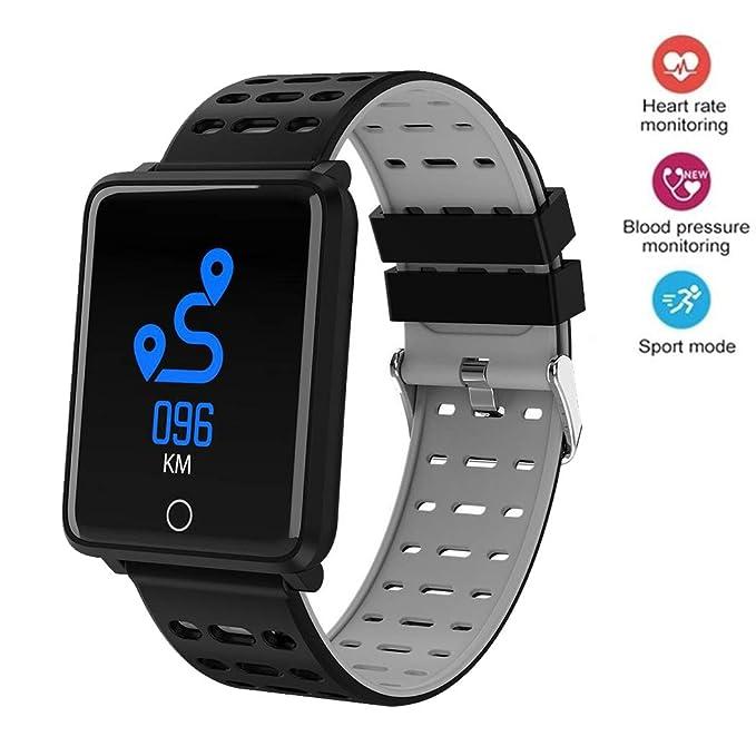 Amazon.com: Onbio - Reloj inteligente con pantalla táctil ...