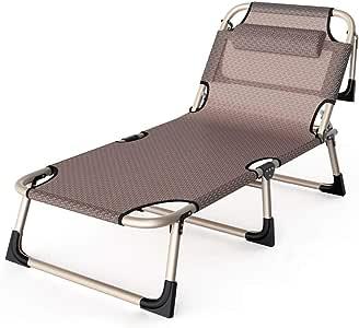 UCYG Cama Canapé Abatible Plegable para Invitados,Armadura De Metal Butaca Sofa 1 Plazas para Camping Piscina Jardín, Niños, 200 Kg De Carga, 193x63x30cm: Amazon.es: Hogar