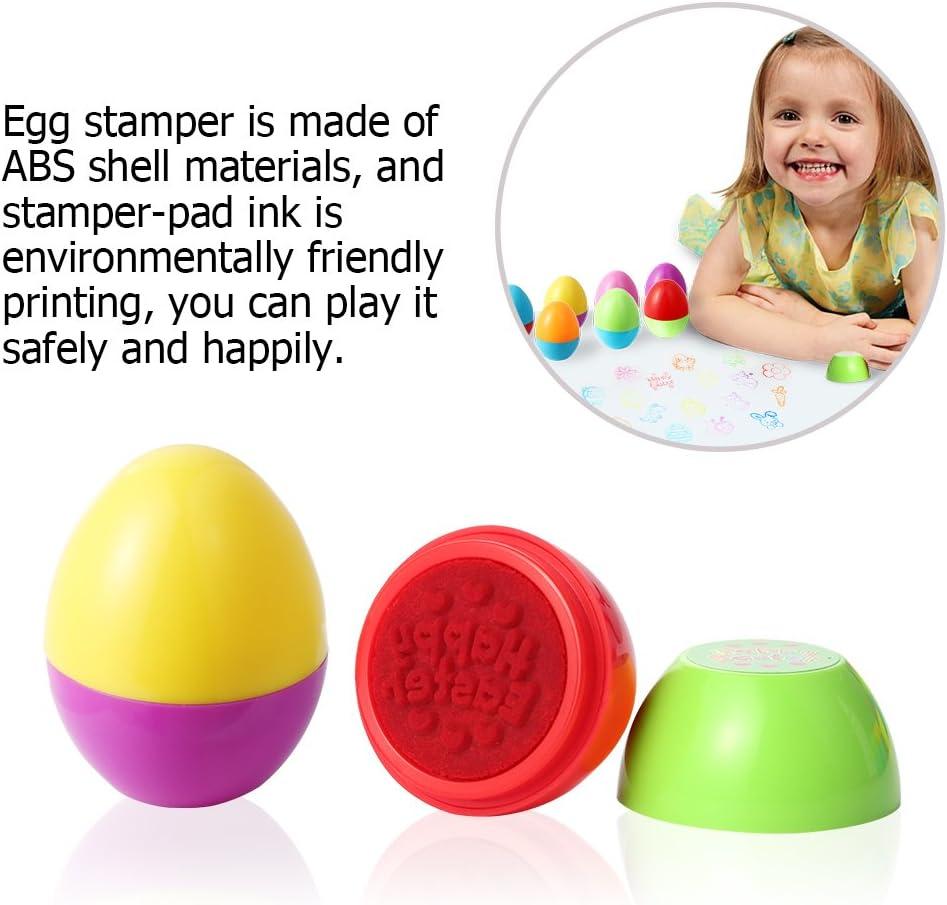 FunsLane 18 pcs Assorted Stamps for Kids Self-Ink Stamps Stampers Toys Set for Party Favor Teacher Stamps,Kids Stamps Activities Gifts for Kid