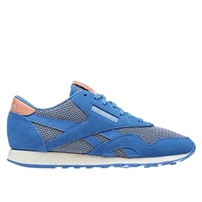 19bc135375424 Reebok cl Nylon Breathability - Coloris - Bleu Gris