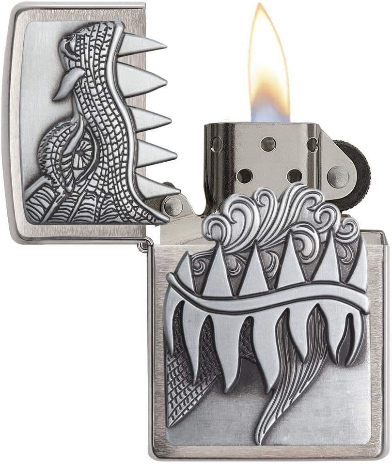 Briquet pour ext/érieur et int/érieur 6 x 27 g - Transparent Solide Fire Dragon