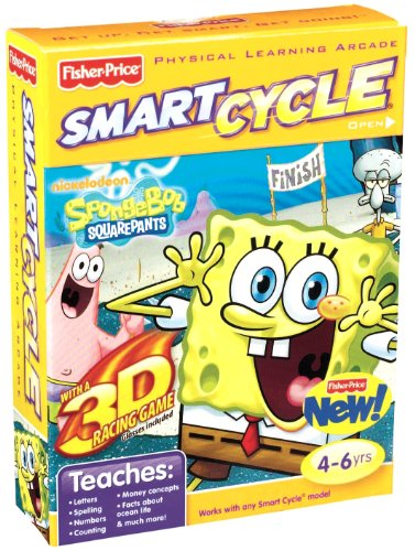 Fisher Price Smart Cycle (Fisher-Price SMART CYCLE 3D Software - Nickelodeon SpongeBob)