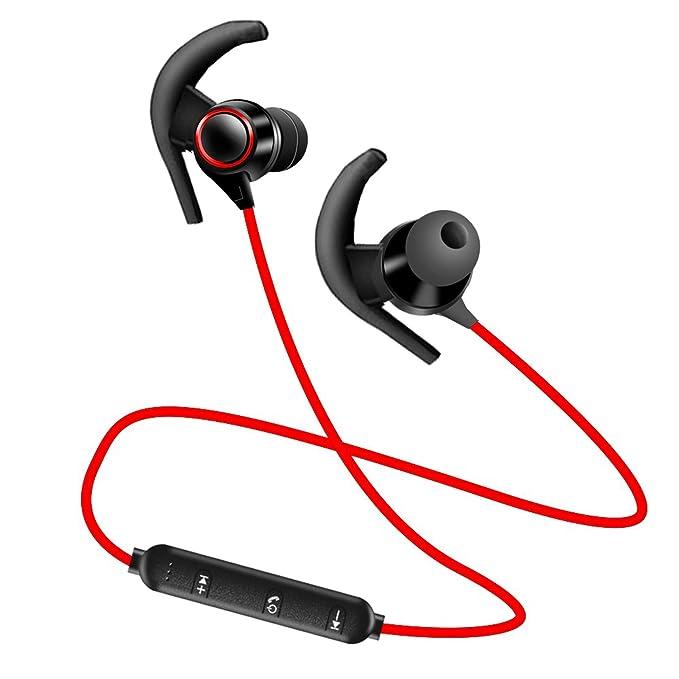 Audífonos Bluetooth V4.1 con micrófono inalámbrico, Auriculares ...