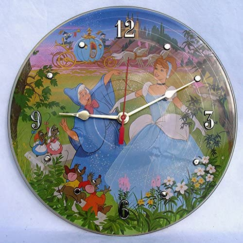 IT S OUR EARTH Vinyl Record Clock Hand Made Using a Cinderella Picture Disc Album Recycled