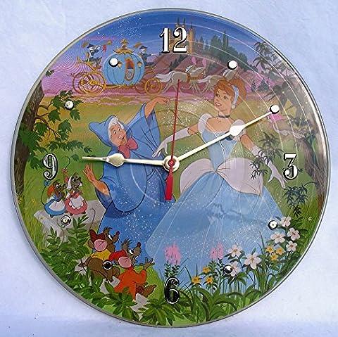 CINDERELLA Recycled Vinyl Record Clock – Disney's Picture Disc Album - Disney Cinderella Album