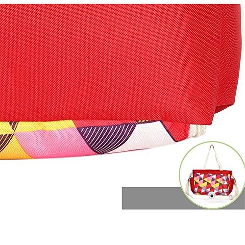 Kangming multifunción bebé pañal bolso cambiador portátil gran capacidad momia bolso amarillo amarillo rosso