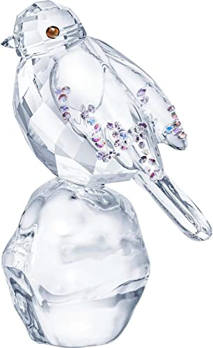 SWAROVSKI Authentic Winter Sparkle Jubilant and Joyful Crystal Robin Figurine