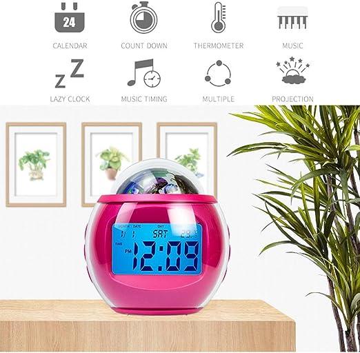 Despertador de la proyección,Despertador digital,Proyección del ...