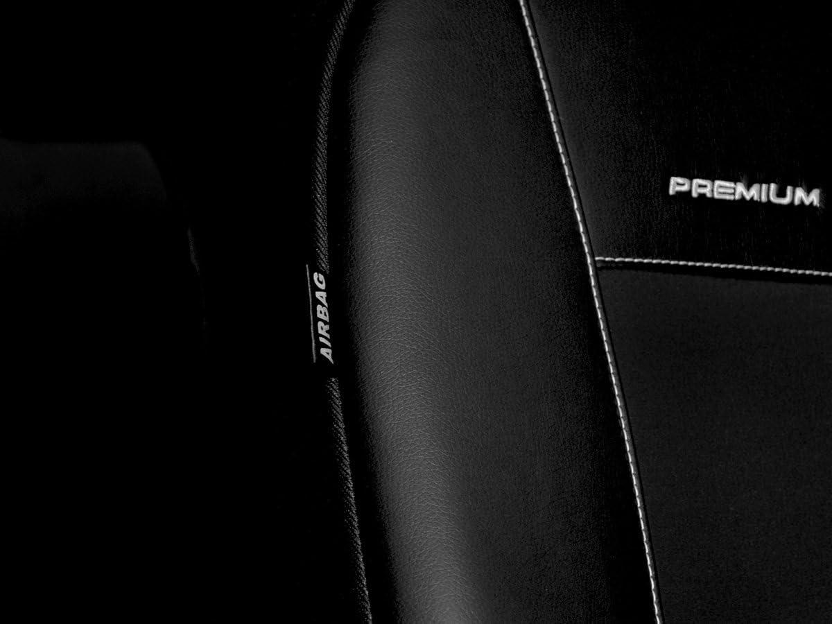 Strickpolster /®Auto-schmuck 2+1 p2 Volkswagen T6 Sitzbez/üge nach Ma/ß Autoplanen perfekte Passform Schonbez/üge Sitzschoner Velour