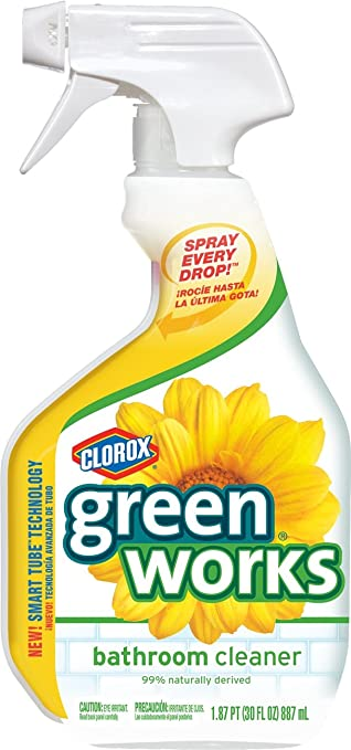 Amazoncom Clorox Green Works Natural Bathroom Cleaner Fl Oz - Natural bathroom cleaner