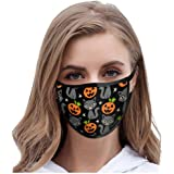 saitingdianzi Adults/Kids Print Reusable Face Màsc Comfortable Face Bandanas for Halloween