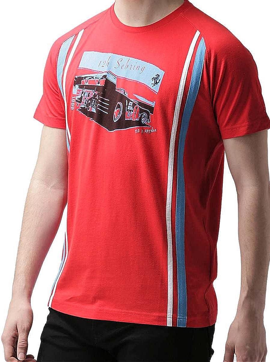 Ferrari - Camiseta - Básico - para Hombre: Amazon.es: Ropa y accesorios