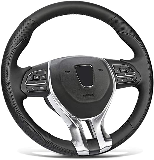 Bell Automotive 22-1-97021-9 Universal Braided Grip Hyper-Flex Core Steering Wheel Cover Black