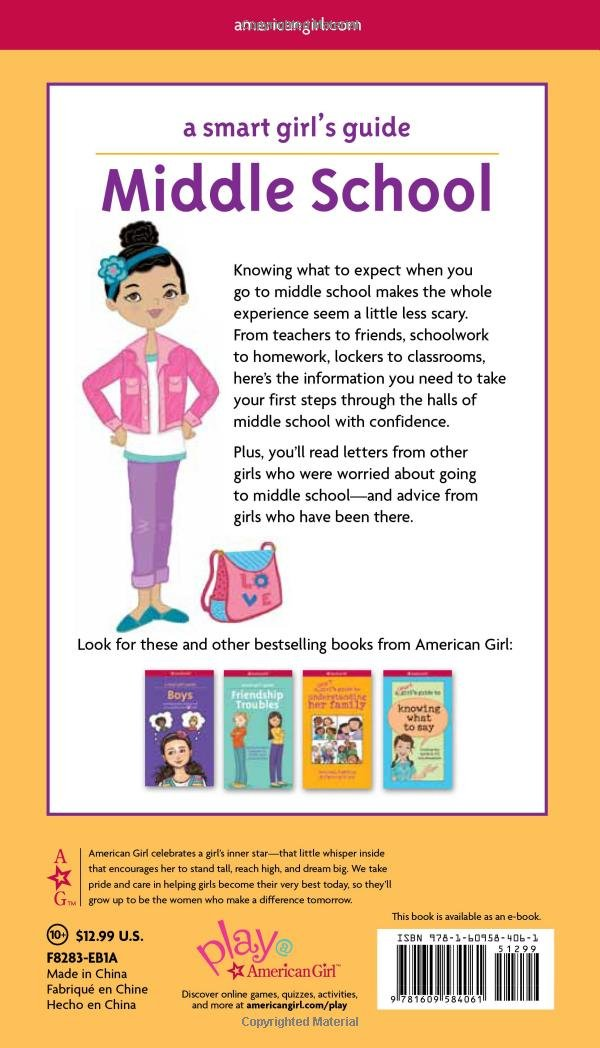 A Smart Girl's Guide: Middle School (Revised): Everything You Need to Know About Juggling More Homework, More Teachers, and More Friends! (Smart Girl's Guides) by American Girl (Image #2)