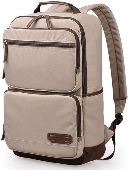 École Sac à dos Laptop Sac Pour Femmes et Hommes solide à motifs Multi-poches Packs