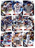 2016 Topps Baseball Series 1 Los Angeles Dodgers Team Set of 17 Cards (SEALED): Andre Ethier(#11), Clayton Kershaw(#24), Zack Greinke(#32), Corey Seager(#85), Yasmani Grandal(#91), Justin Turner(#101), J.P. Howell(#123), Zach Lee(#127), Yasiel Puig(#139), Clayton Kershaw(#150), Jose Peraza(#179), Adrian Gonzalez(#215), Joc Pederson(#263), Alex Guerrero(#279), Hyun-Jin RyuÊ(#293), Brandon McCarthy(#334), Chase Utley(#351) SHIPPED IN PROTECTIVE STORAGE CASE