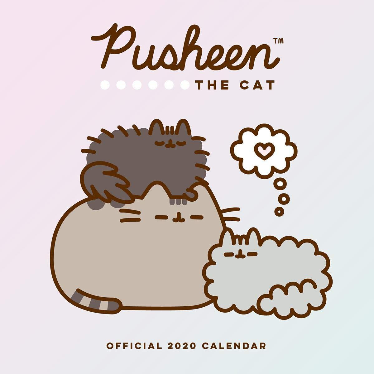 Pusheen 2020 Calendar - Official Square Wall Format Calendar ...