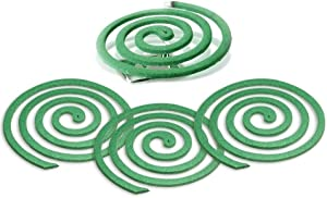 Lovhome Citronella Coils - Outdoor Use - Each Coil Could Last for 5-7 Hours - 2 Pack Contains 16 coils & 2 Coil Stands