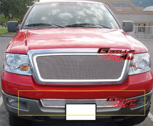 APS Compatible with 2004-2005 Ford F-150 Lower Bumper Stainless Mesh Grille Insert F75351T