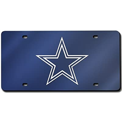 Dallas Cowboys License Plate Laser Tag: Automotive