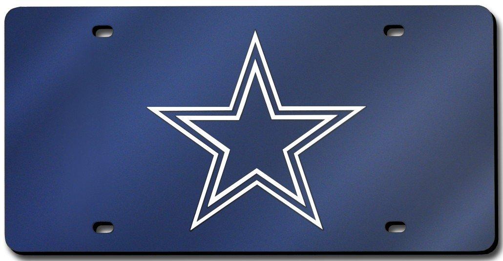Dallas Cowboys License Plate Laser Tag